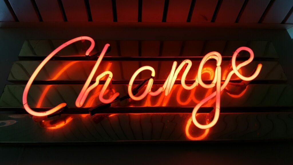 Change-neon-light-signage
