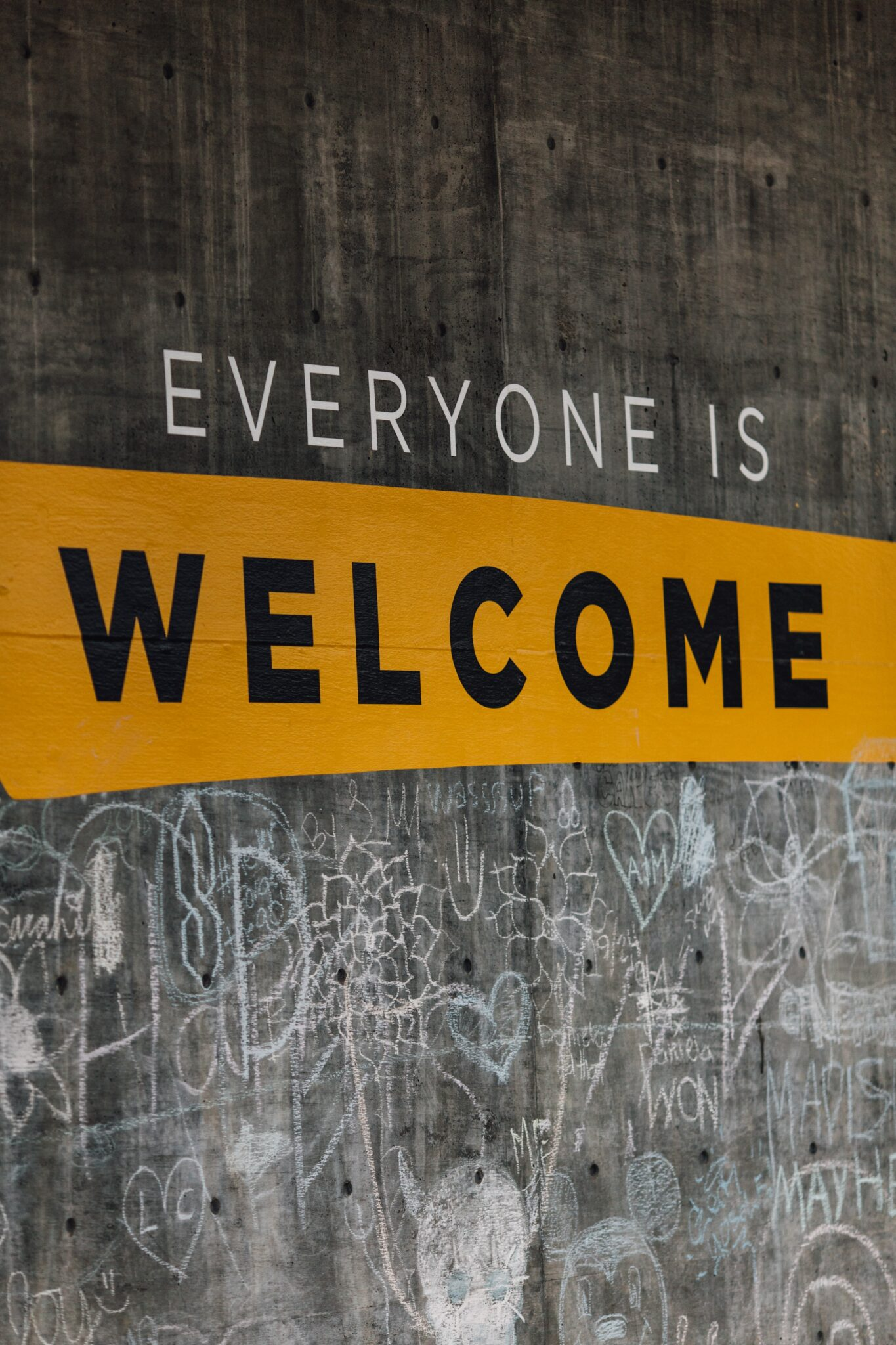 Everyone-Is-Welcome-signage